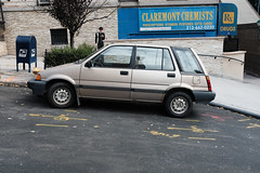 Honda Civic Shuttle Wagon - Bronze Color