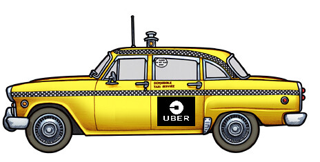 Uber is a Taxi Company