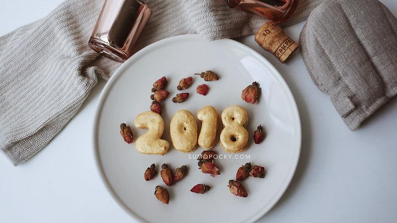 2018 new year macarons