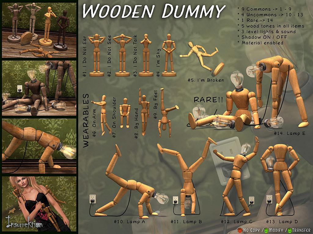 [IK] Wooden Dummy Gacha