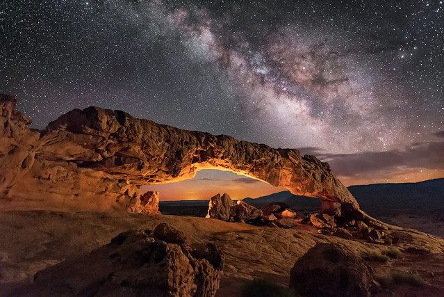 Sunset Arch, Escalante