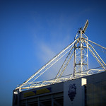 Corner of PNE stadium
