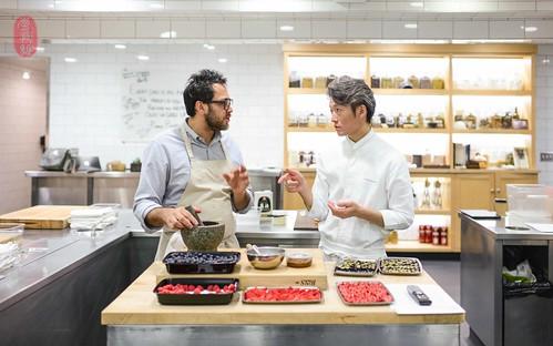 Christopher Kostow and Yoshiaki Takazawa