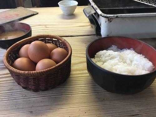 卵かけ放題らしい