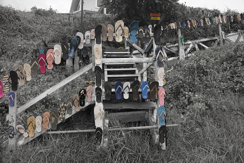 jandal stairs