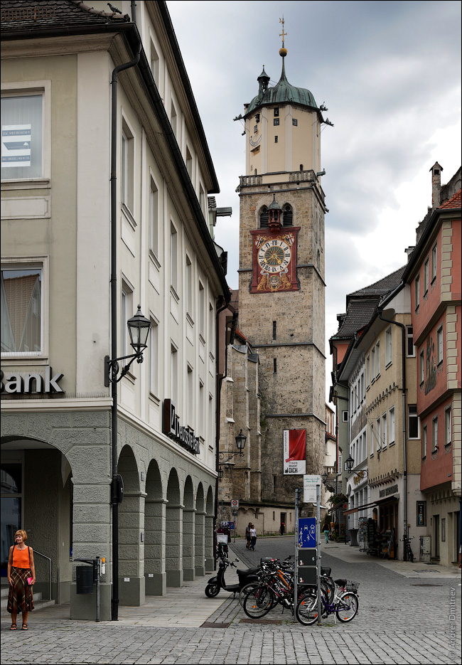 Башня кирхи Святого Мартина