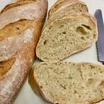 長棍免揉麵包 Baguette No-knead bread (切片 Sliced)