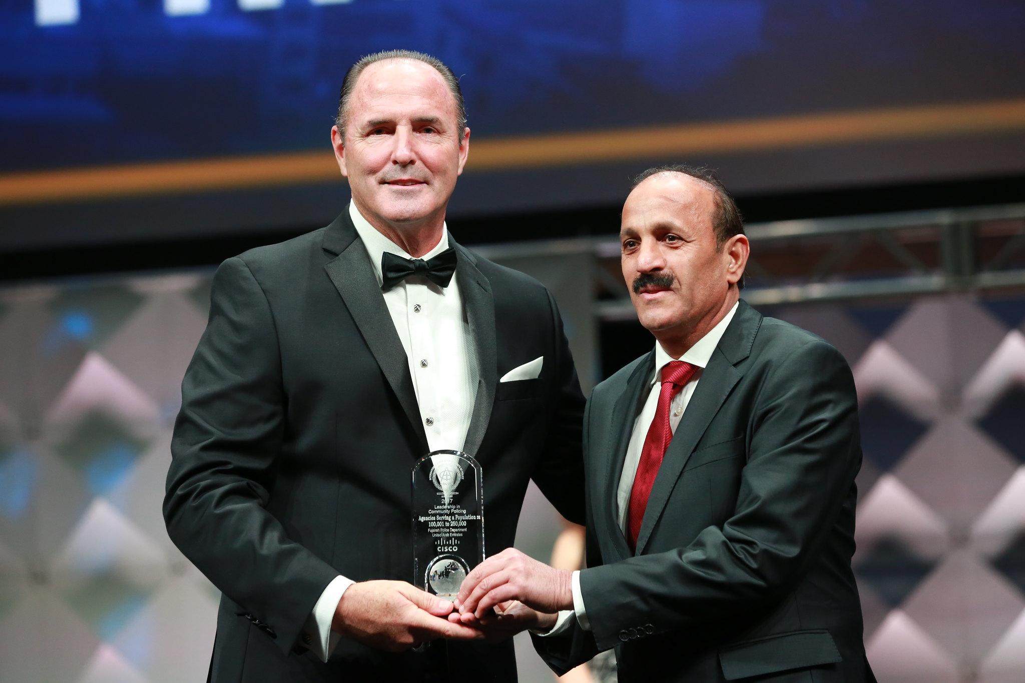 IACPCisco Leadership in Community Policing Award (100K-250K) - Fujairah