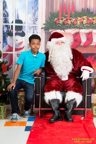 Santa at Teecs-19