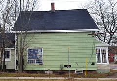 House of a Maple Leafs fan in Moncton, New Brunswick