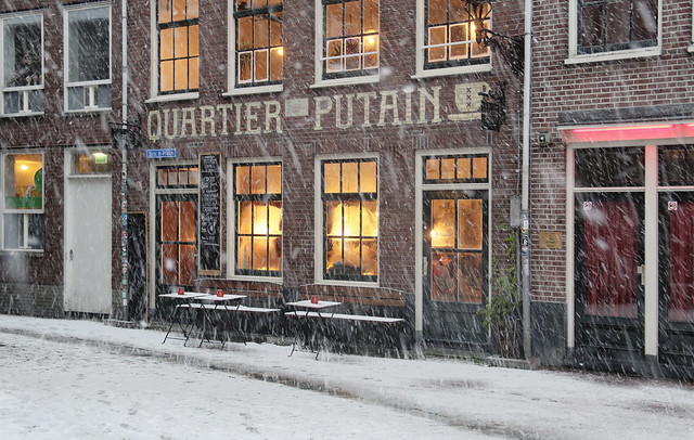 Cosy and warm at the Quartier putain