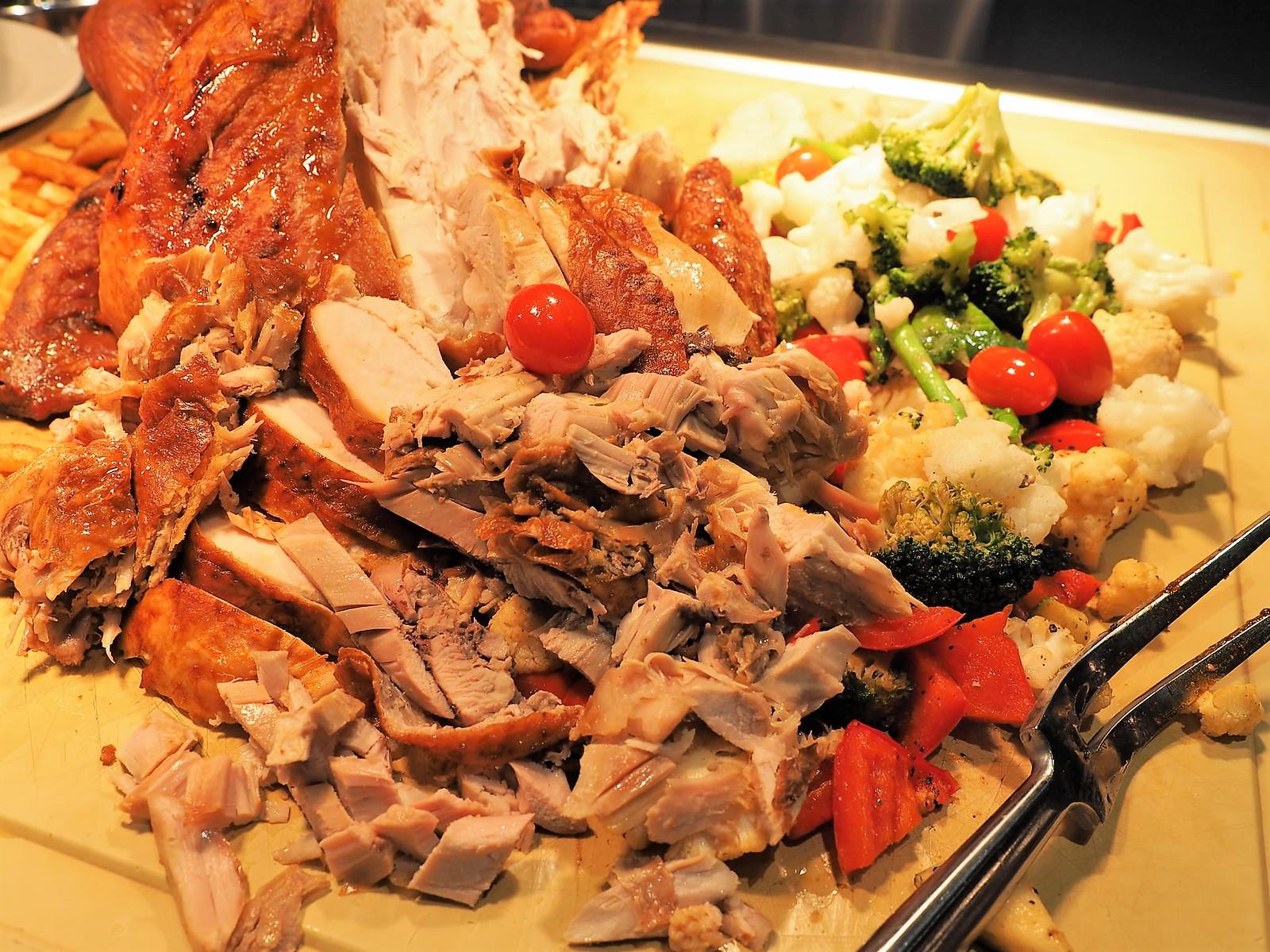 Roasted turkey for Christmas Buffet at Feast @ Sheraton Petaling Jaya.