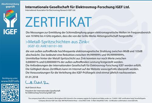 IGEF-Zertifikat-AME-DE-18-2