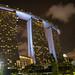 Marina Bay  in der Nacht, Singapur