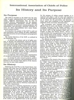 1965-IACP History & Purpose