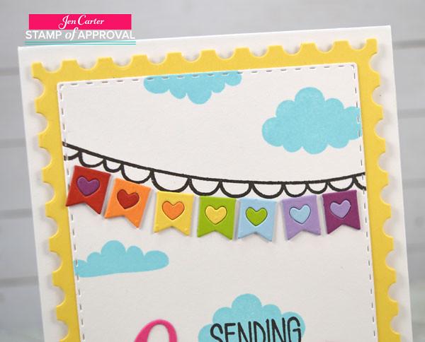 Jen Carter CP Sending Love Banner Closeup wm