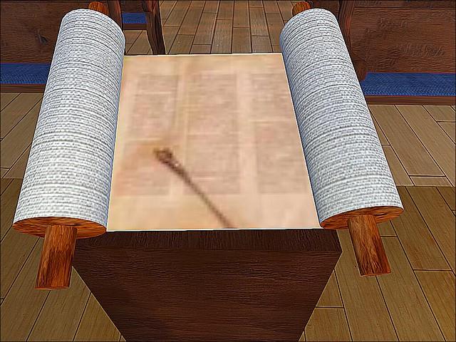 Temple Beth Shalom of Hikari - Blurred Torah