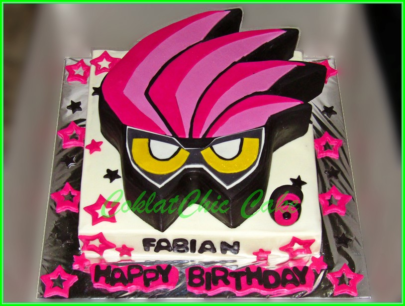 Cake Kamen Rider Ex-Aid FABIAN 22cm
