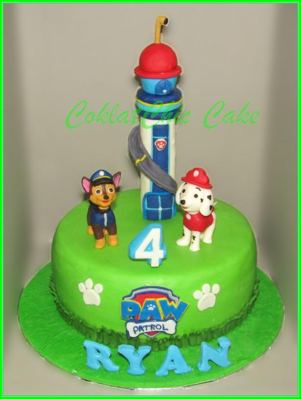 Cake Paw Patrol RYAN 20cm