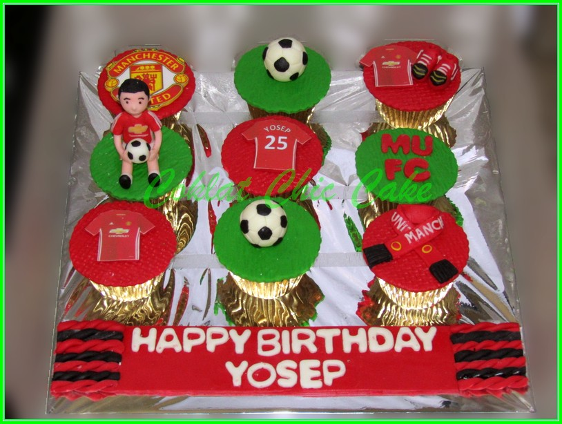 Cupcake set Manchester United YOSEP