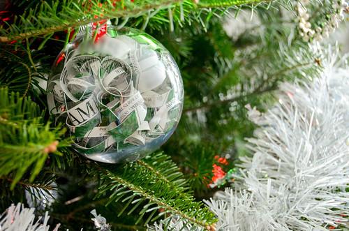 Invitation Christmas Ornament