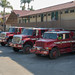 2017-348 CAL FIRE Trucks at the Best Western Peppertree Motel