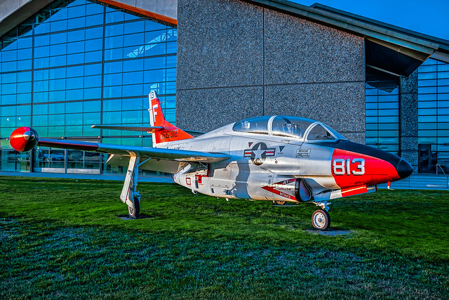 Rockwell T-2C--DSC07429--McMinnville OR