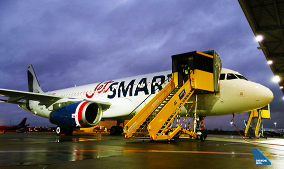 JetSMART A320 CC-AWE delivery (RD)