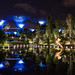 Supertrees by night, singapore
