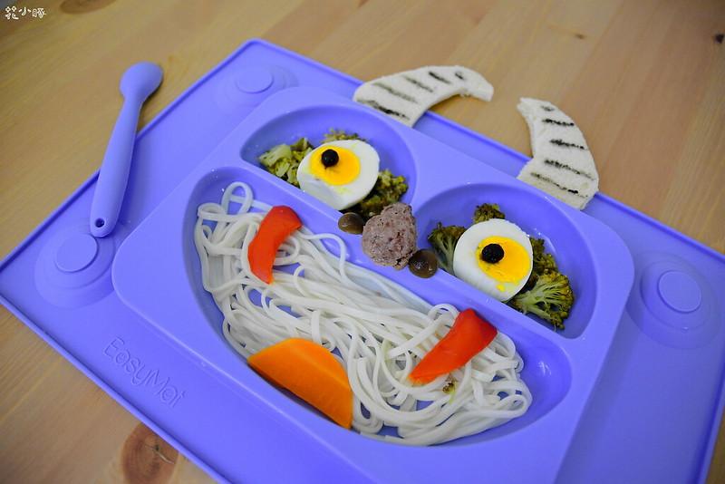 easymat餐盤防拔嬰兒餐具吸盤嬰兒餐具推薦嬰兒副食品餐具推薦EasyMat防滑矽膠餐盤 (8)
