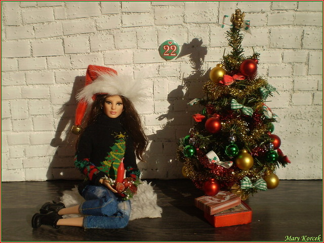 22.advent day - advent calendar with dolls 2017