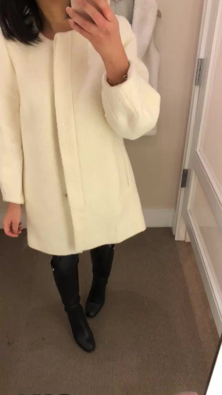 LOFT Blouson Coat, size XS regular