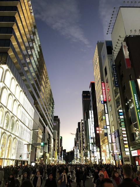 Ginza twilight