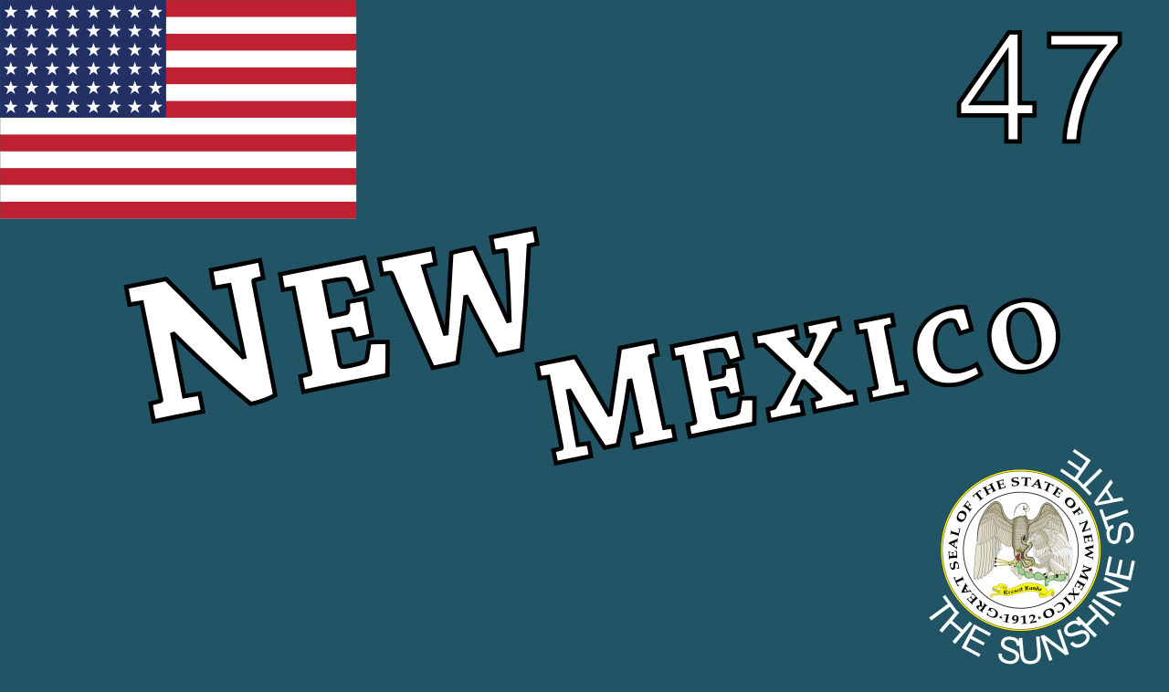 Unofficial flag of New Mexico, 1913-1925