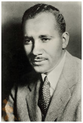 Clarence Mitchell, NAACP rights advocate in Washington: 1957