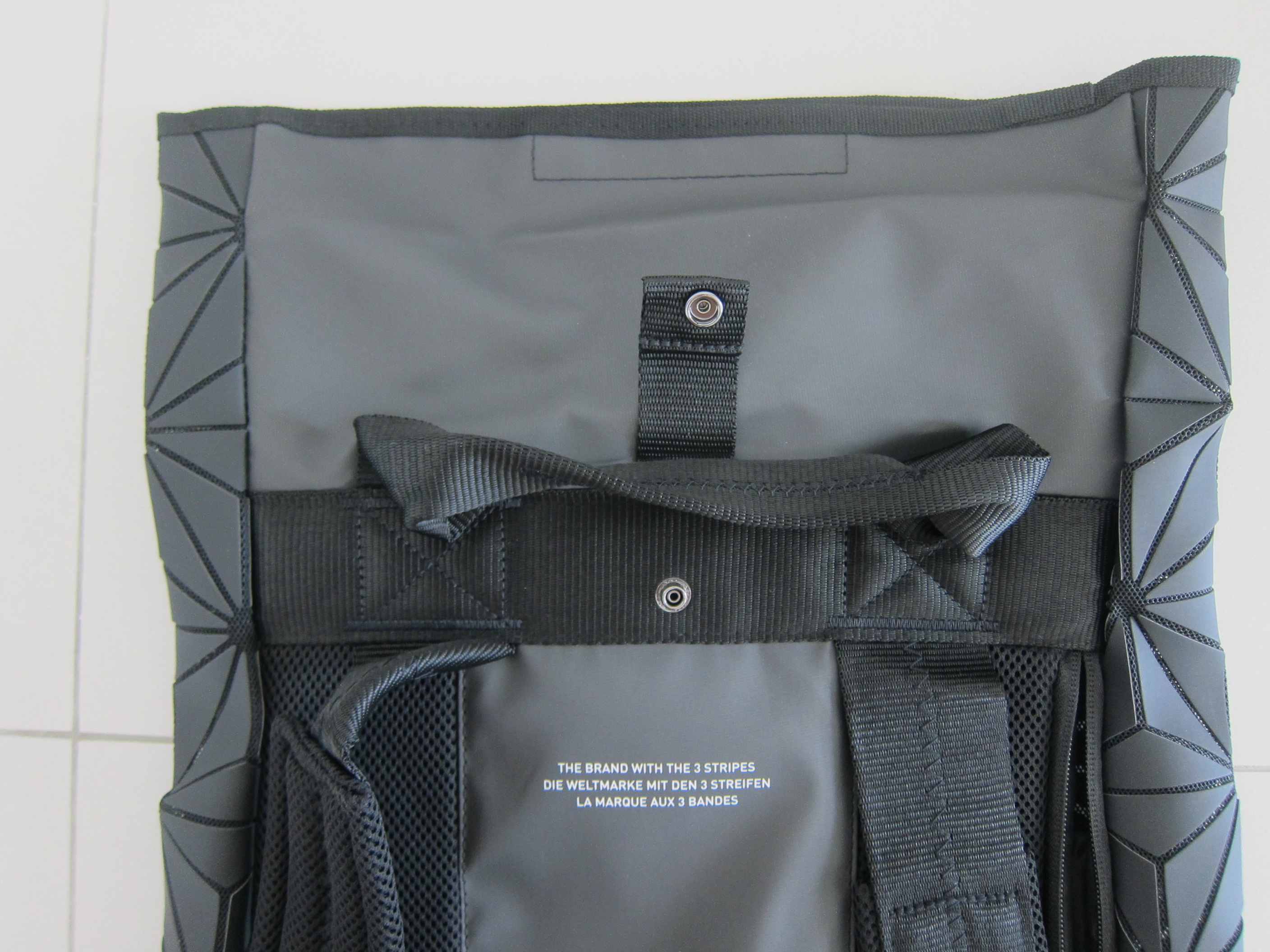 Adidas Issey Miyake 3D Roll Top Backpack « Blog  a940d15fbc8eb