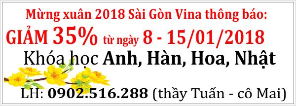 sgv giam 35% hoc phi mung xuan 2018