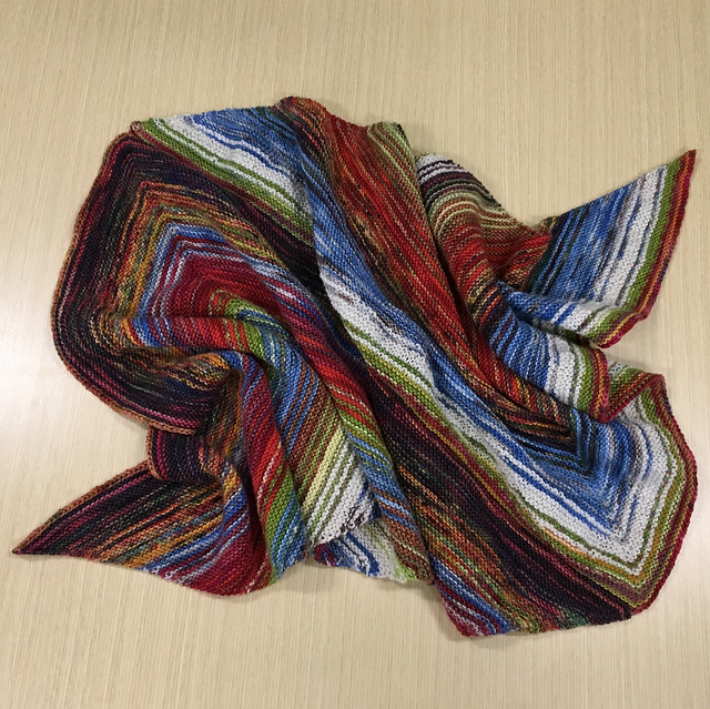 December 2017 ADVENTurous Wrap knit-along with Ambah O'Brien