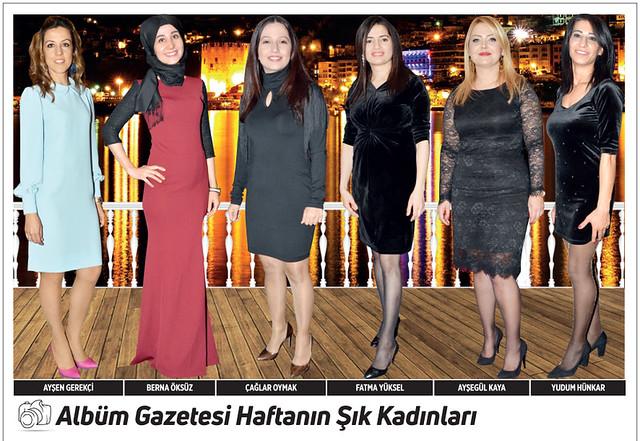 Ayşen Gerekçi, Berna Öksüz, Çağlar Oymak, Fatma Yüksel, Ayşegül Kaya, Yudum Hünkar