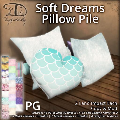 Soft Dreams Pillow Pile PG - TeleportHub.com Live!