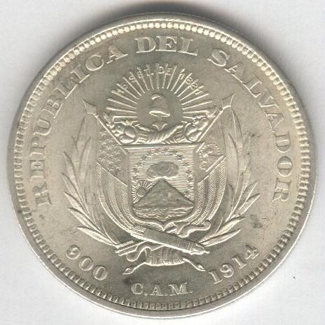 1 Peso del Salvador de 1914 38831857074_14e8ab9cf5