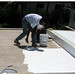 EPDM Coatings Fix roof Leaks once with the only liquid EPDM in the world!