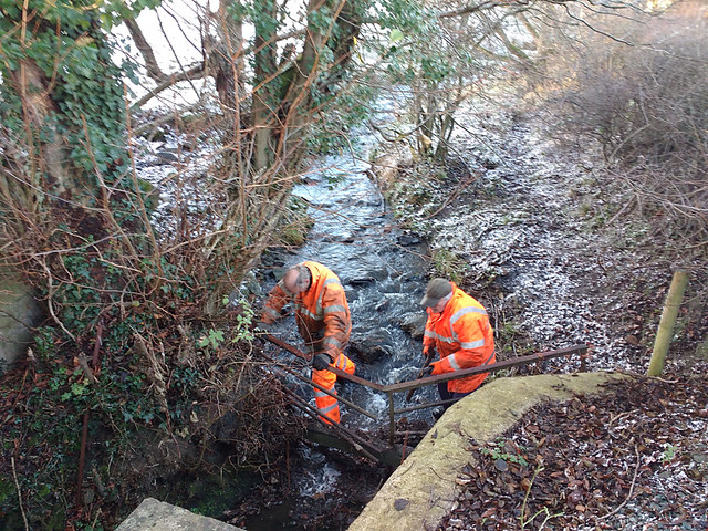Clearing Debris From The Stream