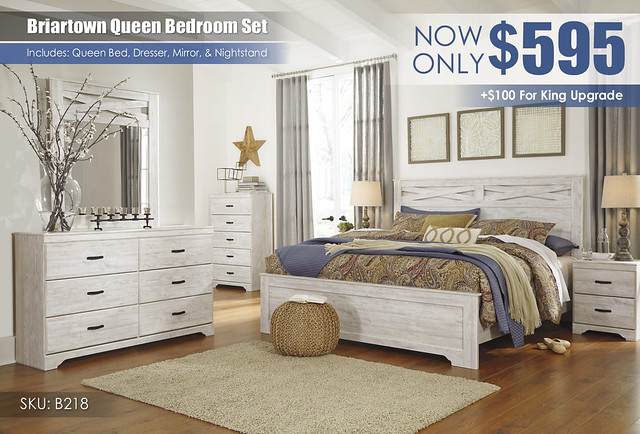 Briartown Bedroom Set B218-31-36-46-58-56-97-92