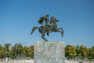Monument Alexander the great