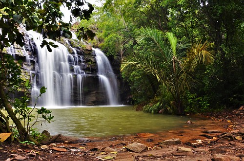 water waterfall waterscape landscape long exposure benin africa green humid swim nature travelling walking d7000