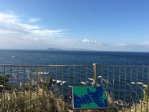 九州が見える、沖縄も九州である