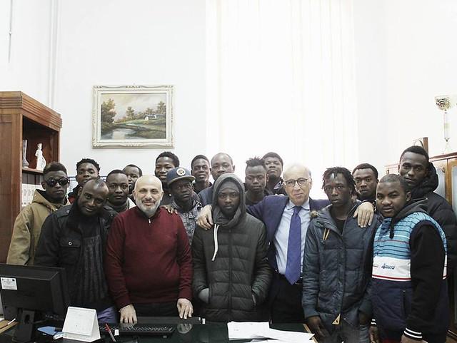 HUMANITAS liceali e accoglienza migranti
