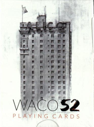 Waco 52 Playing Cards. [Waco, TX]: [publisher not identified], [2017]. Print.