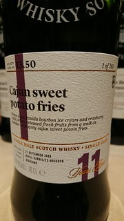 SMWS 13.50 - Cajun sweet potato fries